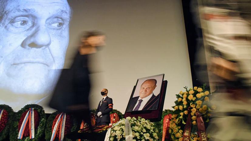 Олешко рассказал о своей благодарности Меньшову