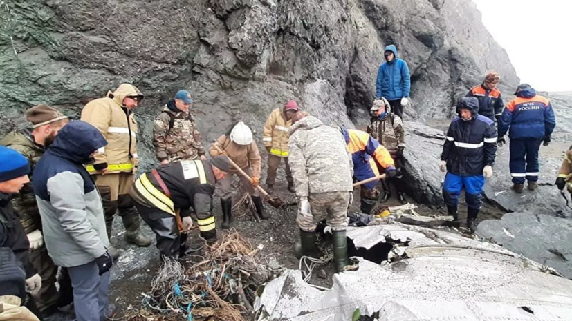 Специалисты МАК приступили к работе на месте крушения Ан-26 на Камчатке