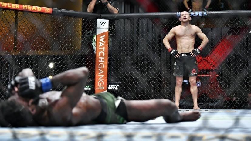 Секундантэкс-чемпиона UFC Яна: рад, что бой со Стерлингом будет в Абу-Даби