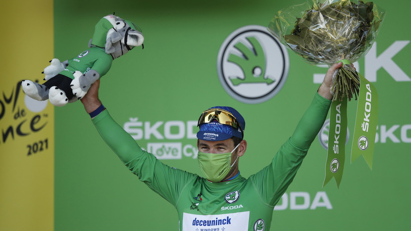 Кавендиш выиграл 13-й этап «Тур де Франс»