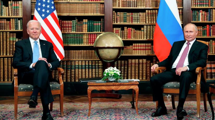 В Кремле рассказали подробности телефонного разговора Путина и Байдена