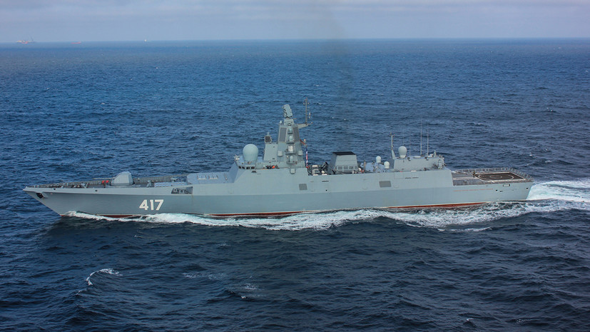 ТАСС: фрегат «Адмирал Головко» будет первым штатным носителем ракет «Циркон»