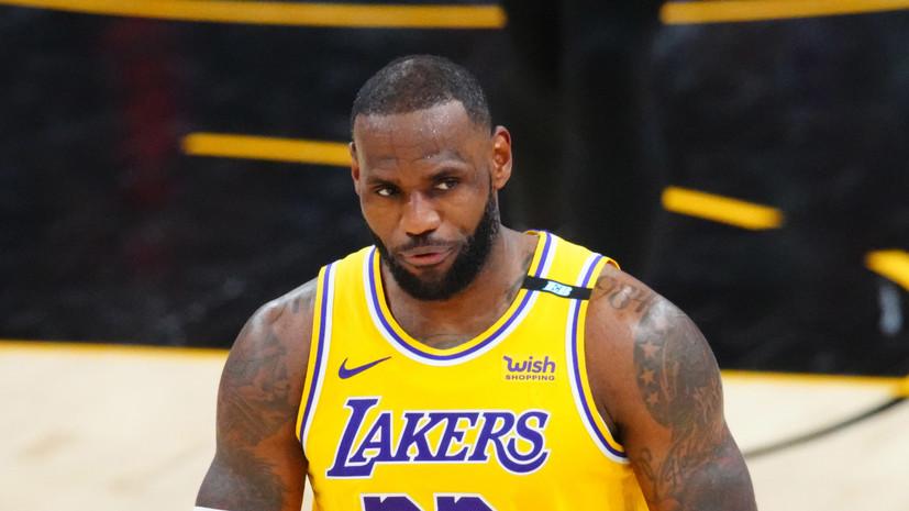 Баскетболист Джеймс назван самым ненавистным спортсменом в мире
