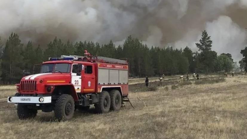 На месте пожаров в Челябинской области найдено тело погибшего