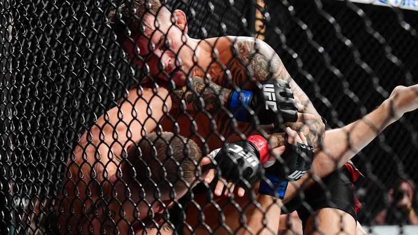 Макгрегор сломал ногу и уступил Порье в главном бою на турнире UFC 264