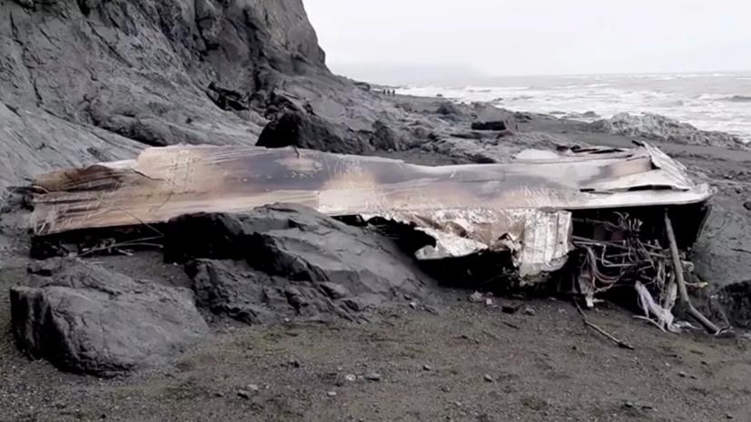 Спасатели сообщили о приостановке поисковых работ на месте крушения Ан-26 на Камчатке