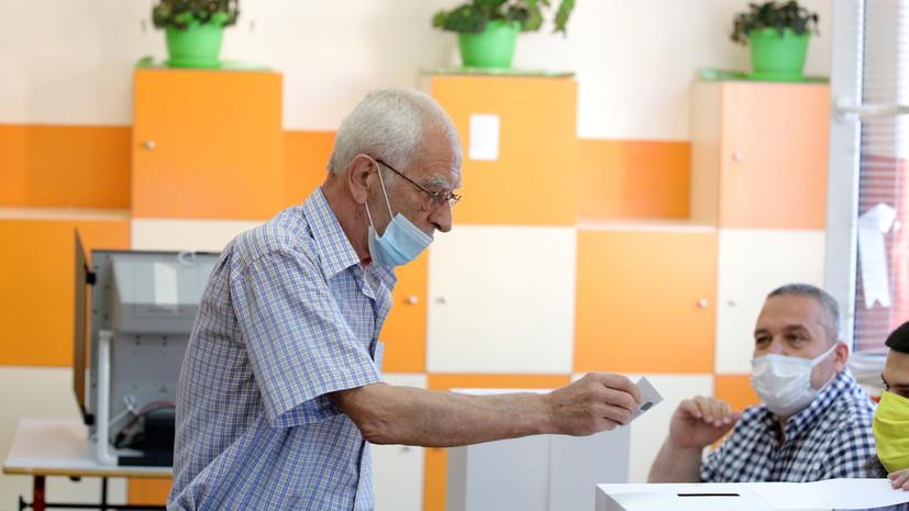 В Болгарии завершилось голосование на парламентских выборах