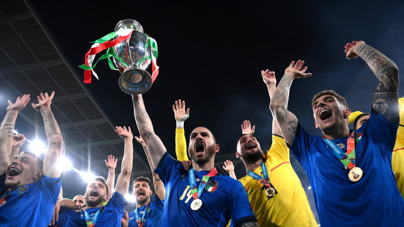 «Мы не та команда, которая будет сдаваться»: что говорили после победы Италии над Англией в финале Евро-2020