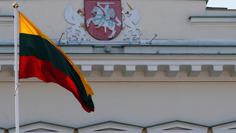 Литва призвала ЕС ввести новые санкции против Белоруссии из-за мигрантов