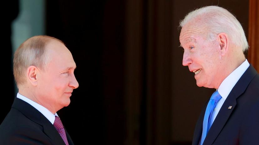 Песков прокомментировал телефонные переговоры Путина и Байдена