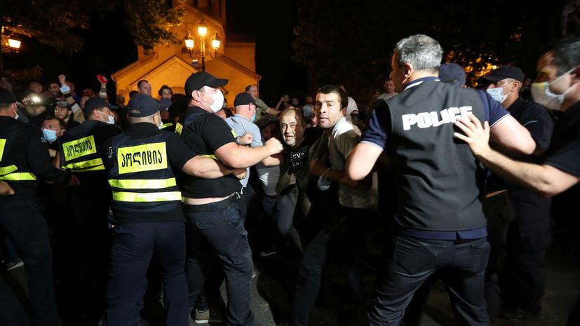 В ходе беспорядков в Грузии задержаны 12 человек