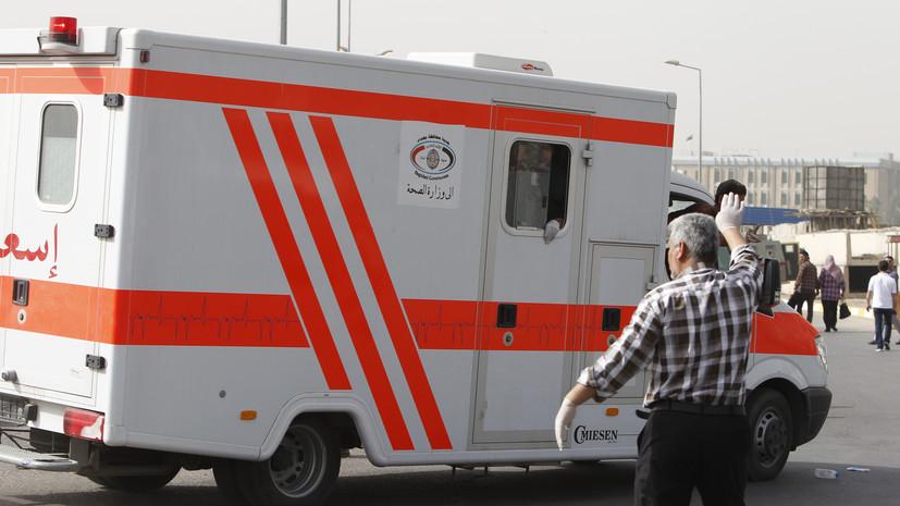Число жертв пожара в иракской больнице возросло до 54