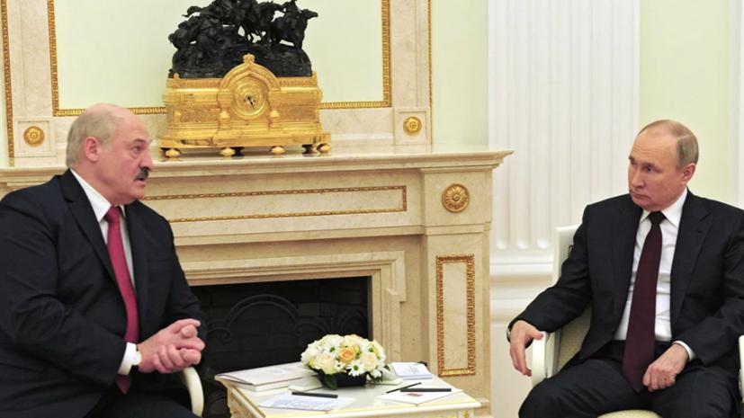 60ed3208ae5ac914df753d0e Лукашенко планирует 13 июля встретиться с Путиным в Петербурге