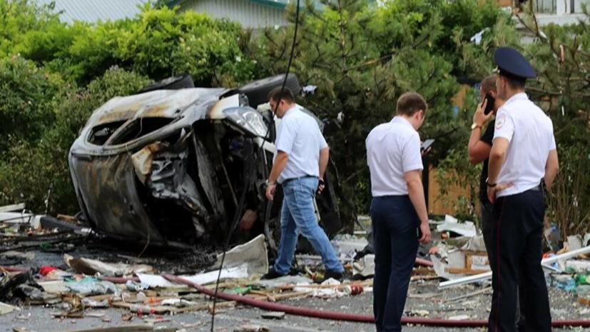 МЧС: один человек погиб и четверо пострадали при взрыве газа в Геленджике