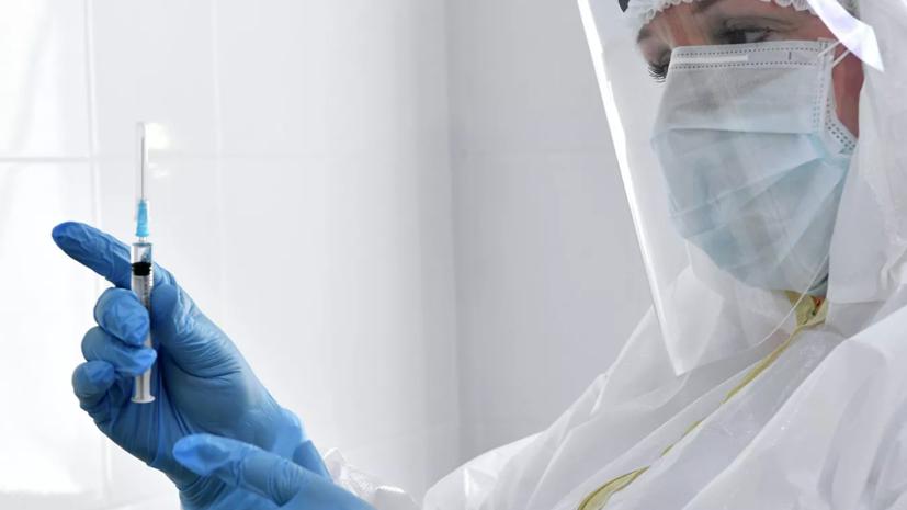 Почти 45 тысяч медработников Петербурга вакцинировались от COVID-19
