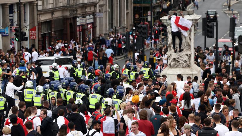 Сорокин прокомментировал беспорядки в Лондоне в день финала Евро-2020