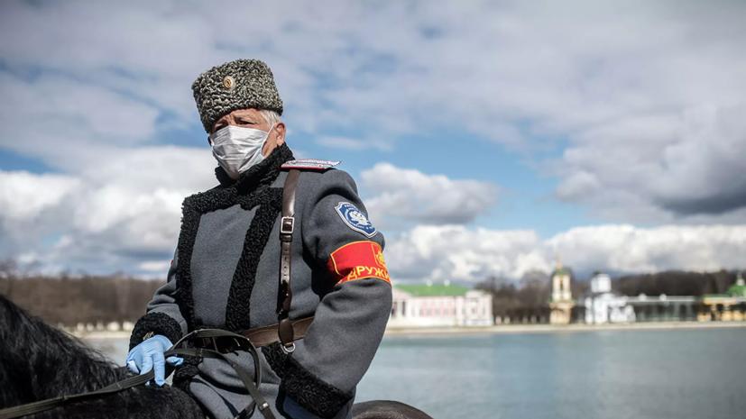 На Ставрополье рассказали о помощи казачьих дружин полиции