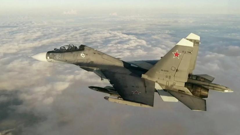 Су-30 сопроводил самолёт-разведчик ВВС США над Чёрным морем