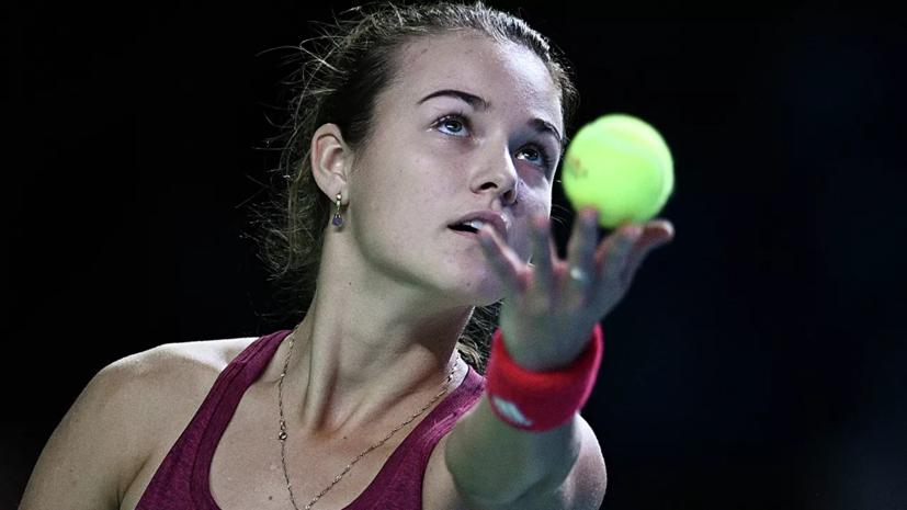 Калинская проиграла Калининой на турнире WTA в Праге
