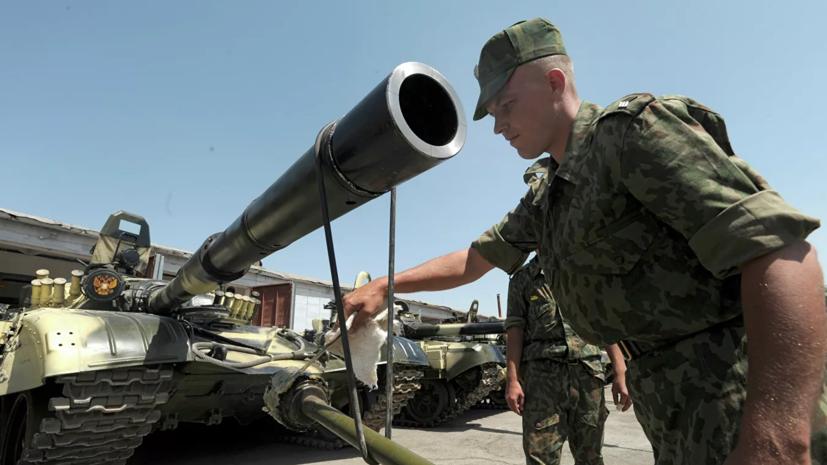 Российские военные начали учения в Таджикистане
