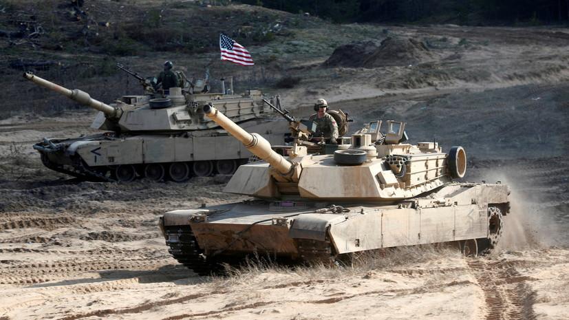 Польша закупит четыре батальона американских танков Abrams