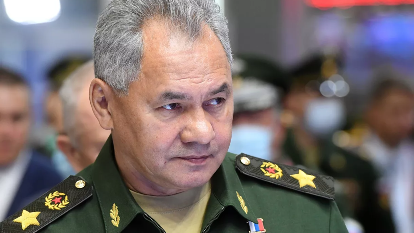 Шойгу рассказал об оснащении российской армии современным вооружением