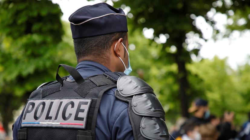 В Париже применили слезоточивый газ против демонстрантов