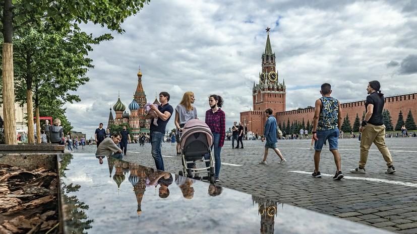 В Москве 15 июля ожидается до +35 °С