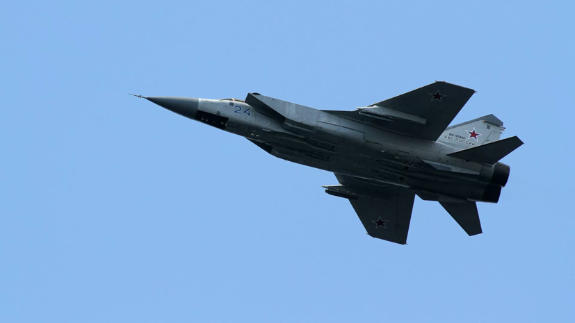 Российский истребитель сопроводил патрульный самолёт США над Тихим океаном