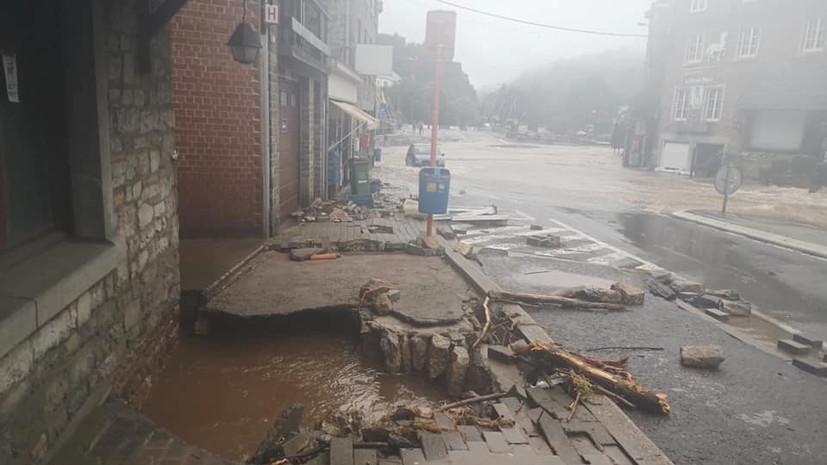 В Бельгии число жертв наводнения возросло до 11