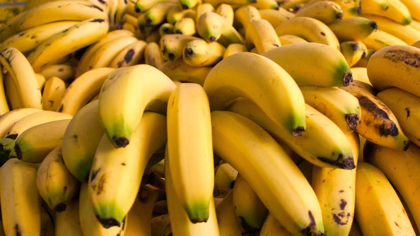В России цены на бананы обновили пятилетний рекорд