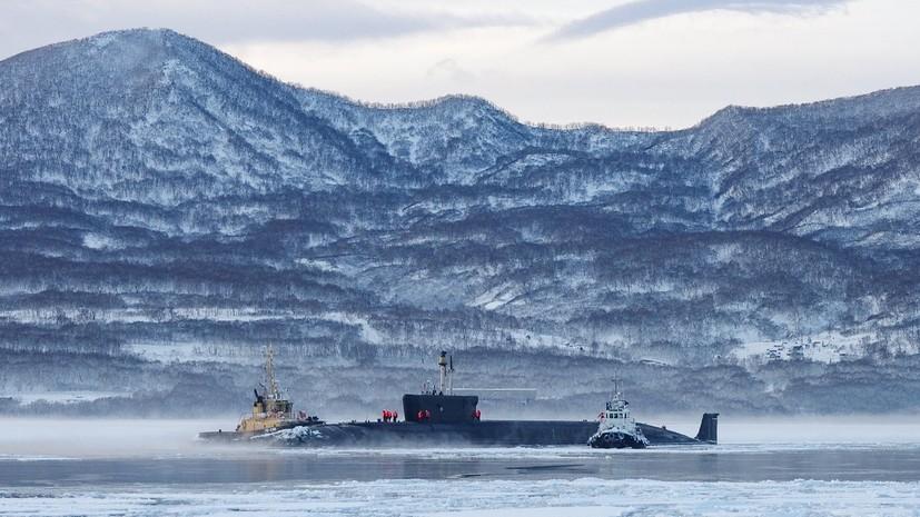 В ТОФ рассказали о возвращении крейсера «Владимир Мономах» на Камчатку