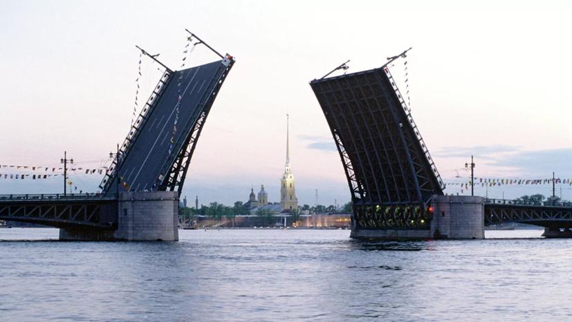 Шоу «Поющие мосты» возобновится в Петербурге в ночь на 17 июля