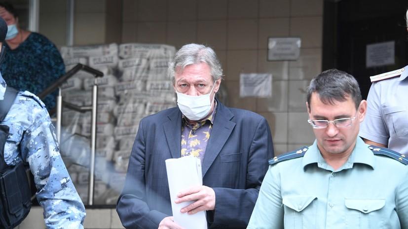 Кассационная жалоба на приговор Ефремову поступила в суд