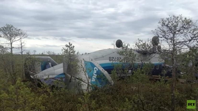 Глава Росавиации высоко оценил работу ведомств при ЧП с самолётом