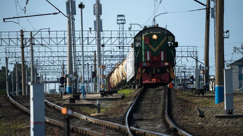 При столкновении грузовых поездов в Приамурье погибли два человека