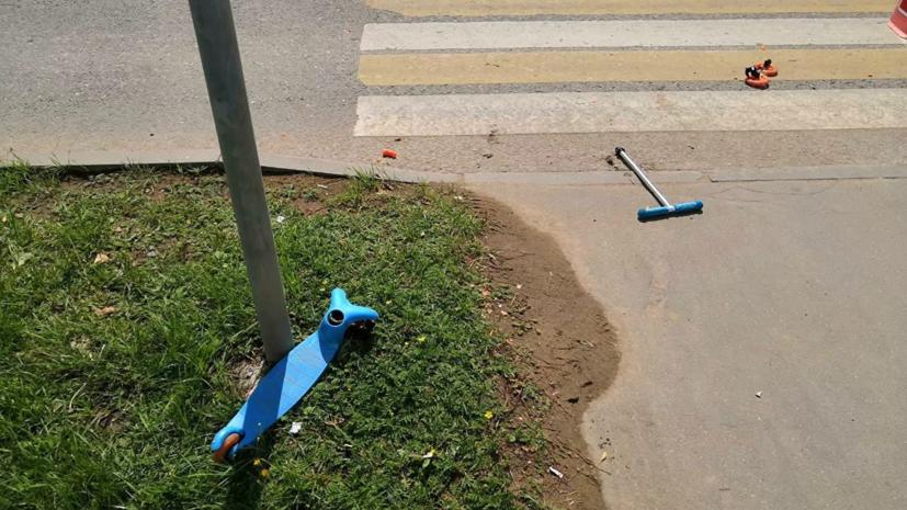 Умер второй ребёнок, сбитый на улице Авиаторов в Москве