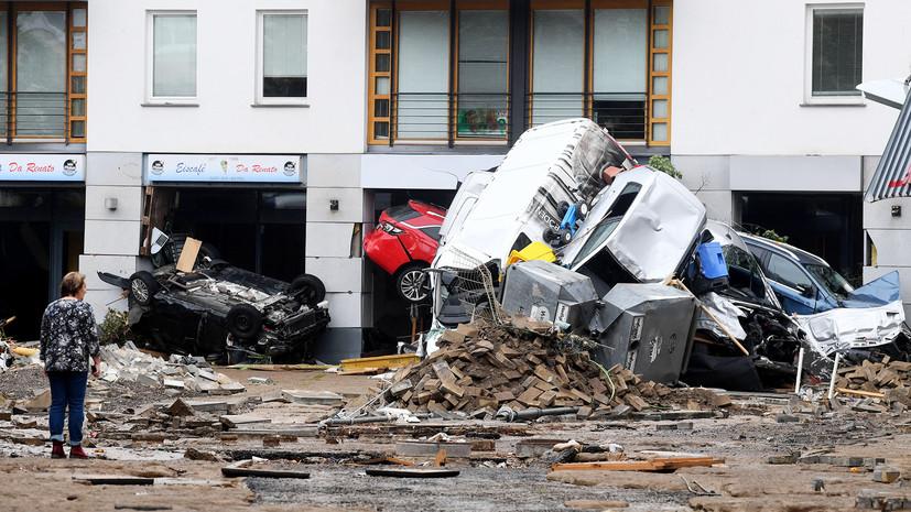 «Главное — сохранять лицо»: как наводнение может повлиять на расстановку сил на выборах в Германии