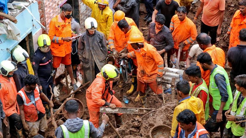 В Мумбае число жертв обрушения зданий возросло до 20