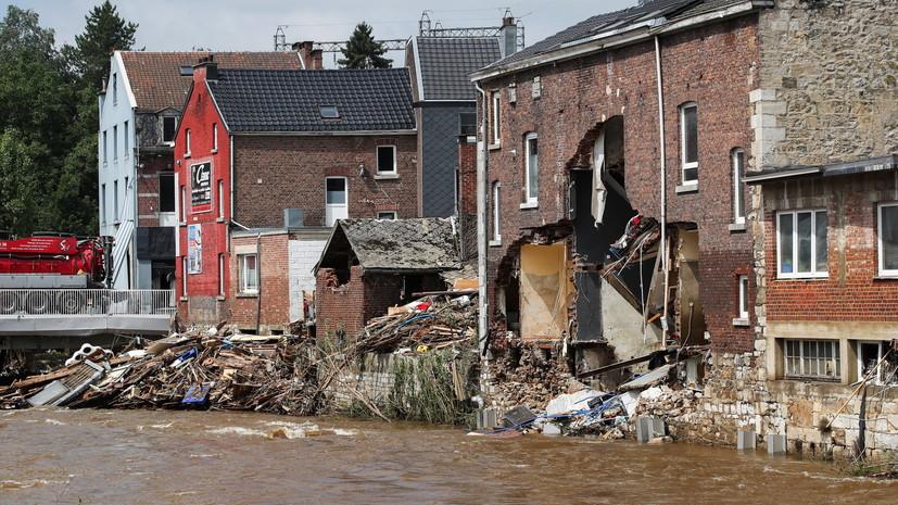Число жертв наводнения в Бельгии достигло 31