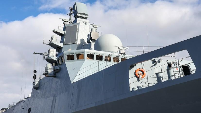 Фрегат «Адмирал Горшков» успешно выполнил стрельбу ракетой «Циркон»