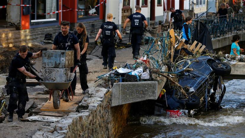 Число жертв наводнений в Германии выросло до 163