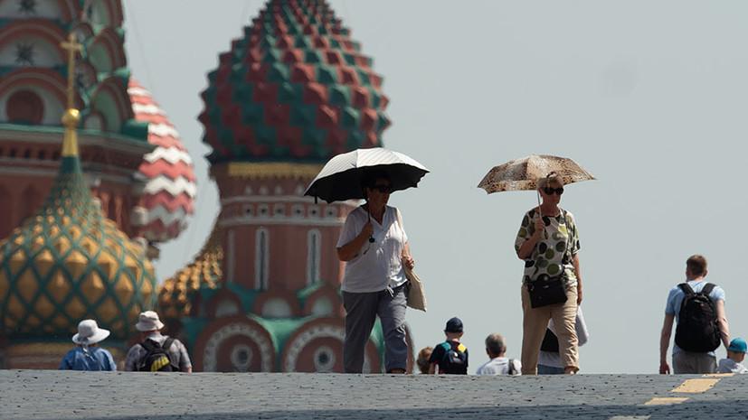 Синоптик рассказал о погоде в Москве в конце июля