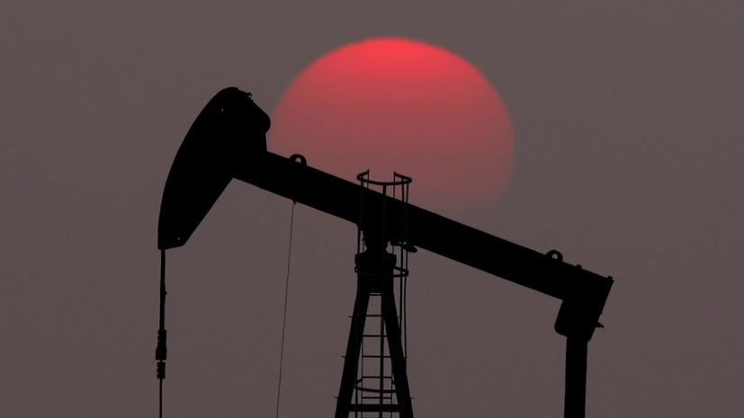 Цена нефти Brent впервые с 1 июня опустилась ниже $70 за баррель