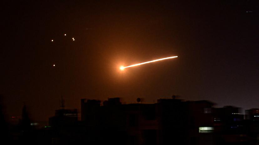 Сирия сообщила об отражении атаки в небе Алеппо
