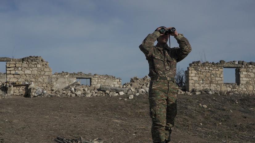 Армения заявила об использовании Азербайджаном минометов на границе