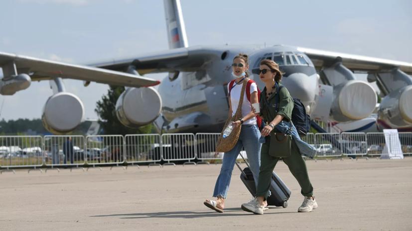Путин заявил о большом потенциале развития российской авиации