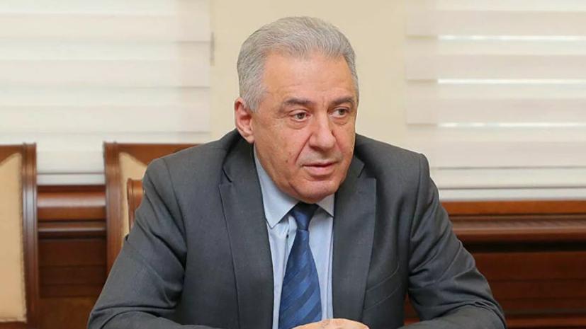 Исполняющий обязанности министра обороны Армении Арутюнян подал в отставку