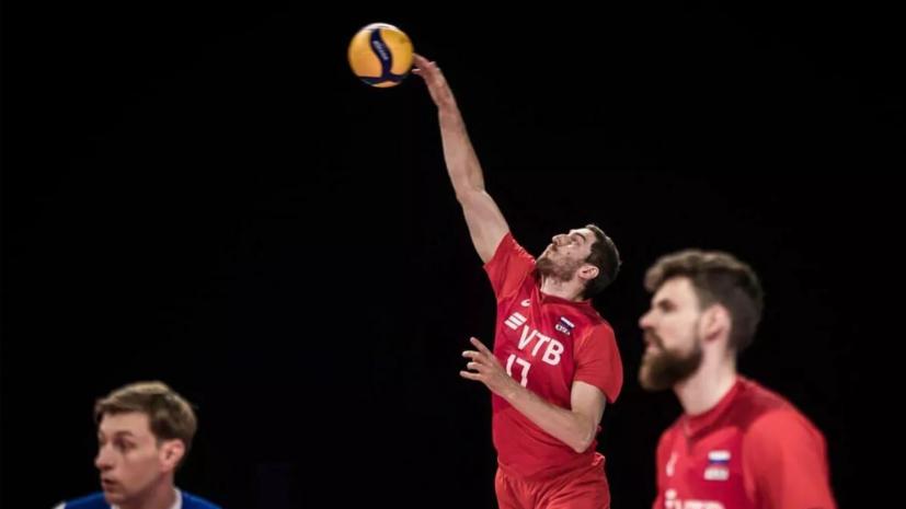 Сборная России по волейболу уступила Италии в контрольном матче перед Олимпиадой в Токио