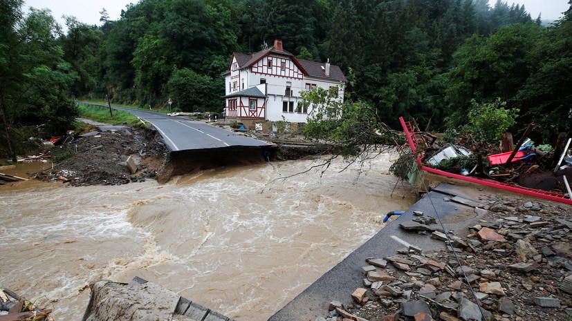 Число жертв наводнений на западе Германии выросло до 172